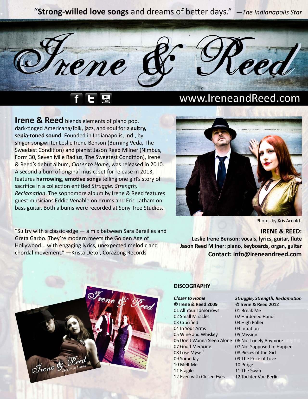 Irene&Reed-PressKit-1Sht-Oct2012