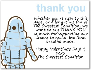 TSC Thank You robot FB ad