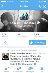 Retweet by The Wind and the Wave 7-3-14