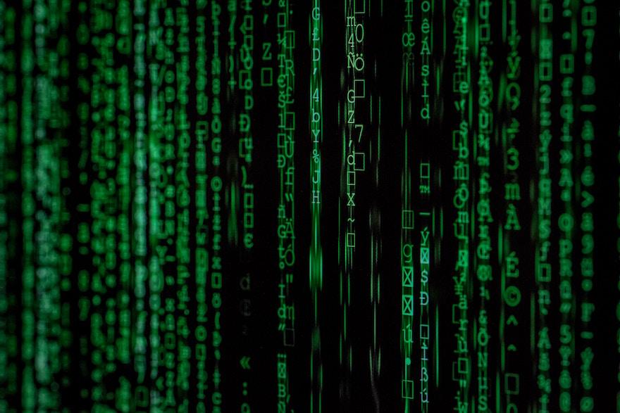 Data movie still from 'Matrix'