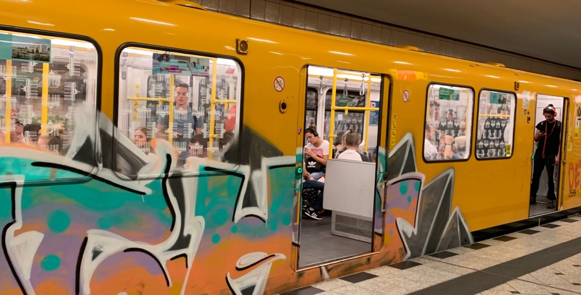 U-Bahn train car, Berlin