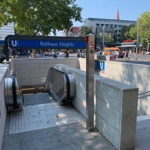 U-Bahn at Rathaus Steglitz